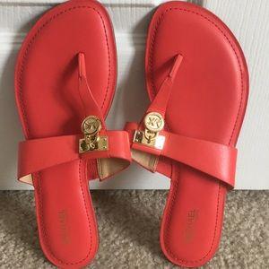 Michael Michael Kors Hamilton Thong Sandals